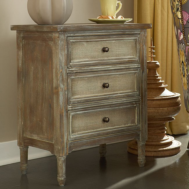 Hidden Treasures Small Three Drawer Chest Accent Chests And Cabinets Occasional And Accent