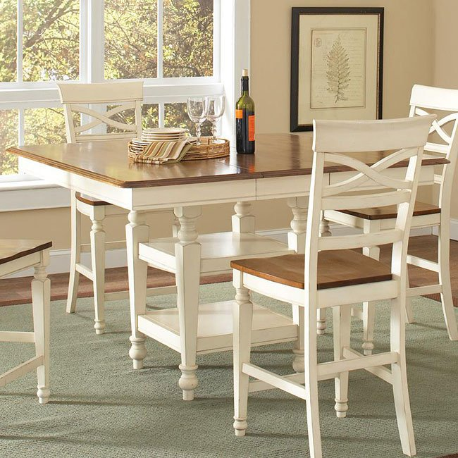 Ashley Counter Height Table Coaster Furniture