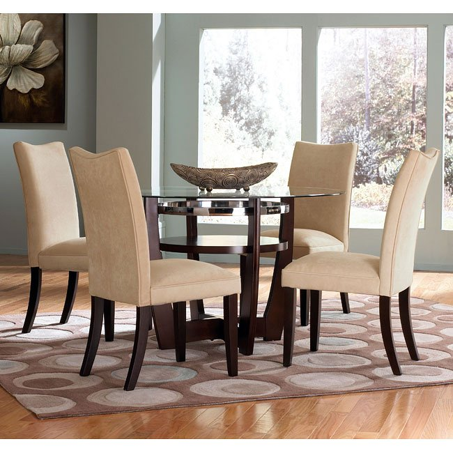 Apollo Dining Room Set W Camel Chairs Standard Furniture Furniturepick