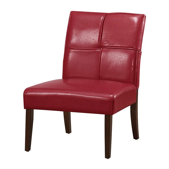 Oriana Accent Chair Red Accent Chairs Living Room