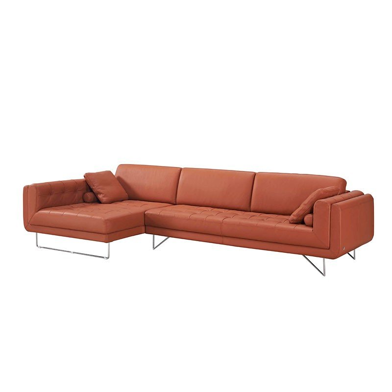 Hampton Leather Left Chaise Sectional Sectionals