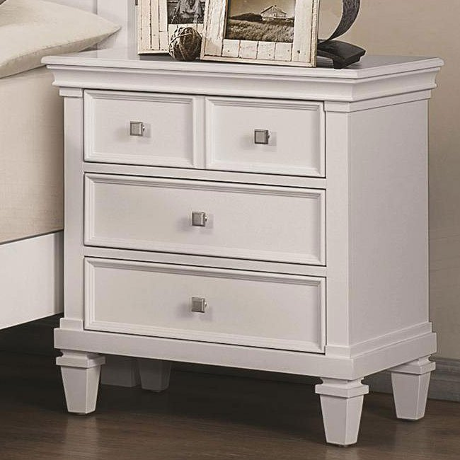 nightstand white nightstands bedroom furniture bedroom