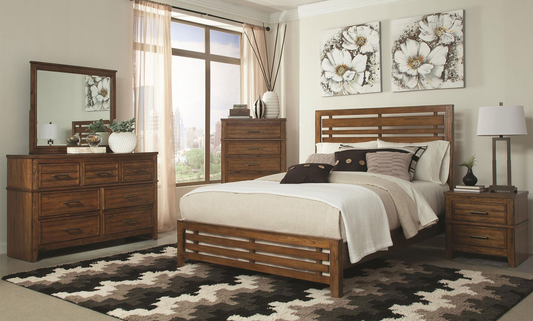 cupertino panel bedroom set coaster furniture furniturepick
