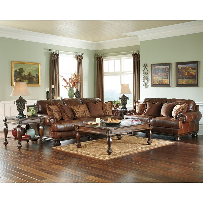 Ashley Furniture Discount Store: Hutcherson Harness Living Room Set Millennium