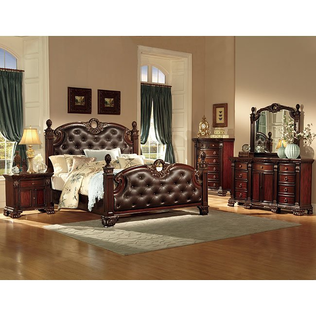 Orleans Poster Bedroom Set Homelegance