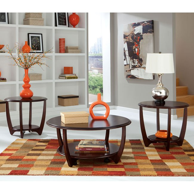 Seattle ii 3 piece occasional table set standard furniture for Furniture pick up seattle