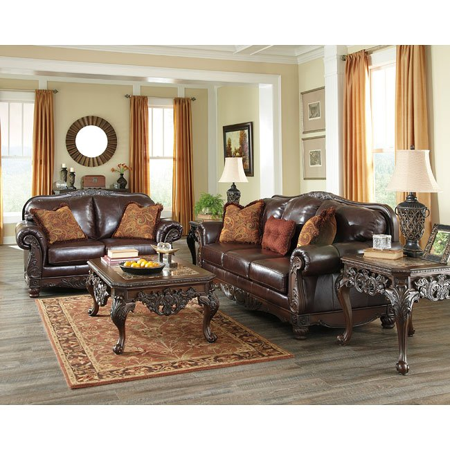 North shore plus coffee living room set millennium furniturepick