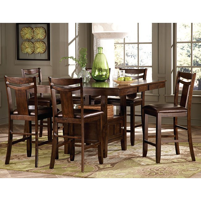 Broome Counter Height Dining Room Set Homelegance
