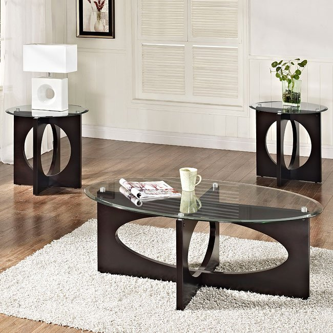 dania 3 piece occasional table set occasional table sets