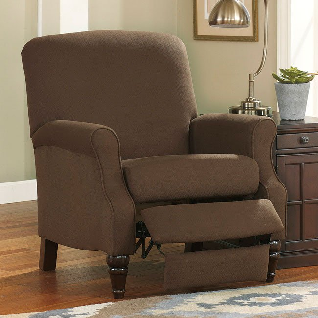 Bromwich Chocolate High Leg Recliner Signature Design By