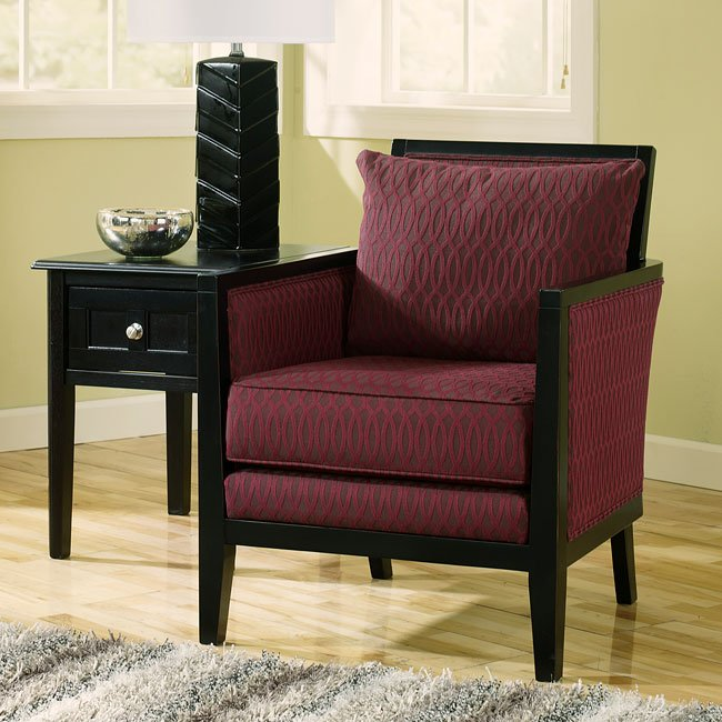 Dinelli Charcoal Accent Chair Signature Design by Ashley