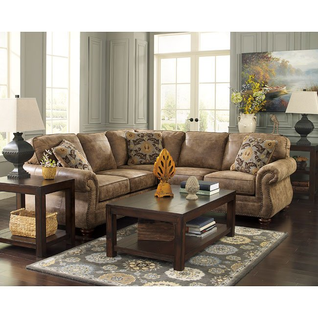 Larkinhurst Earth Sectional Signature Design By Ashley