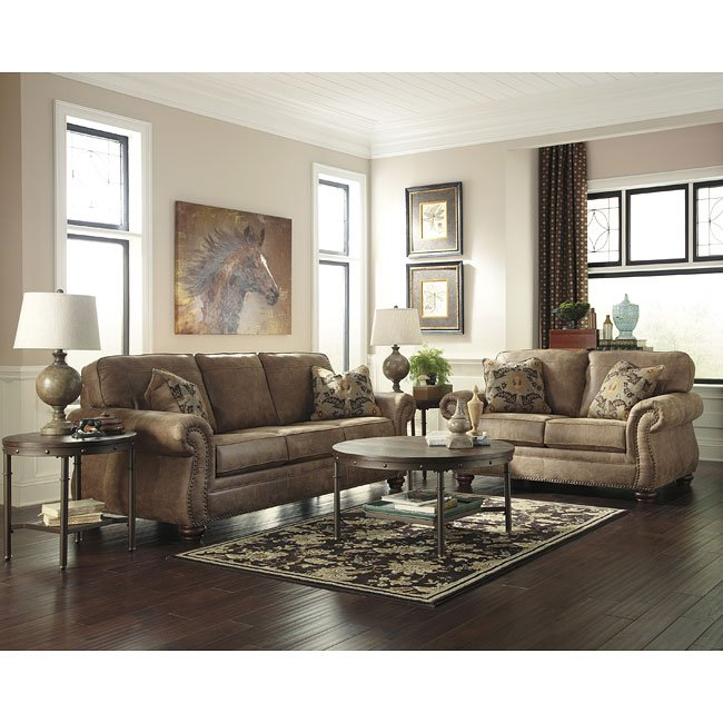 Larkinhurst Earth Living Room Set Signature Design By