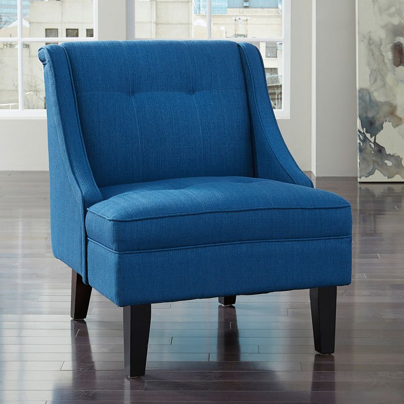 blue accent chair accent chairs living room furniture living