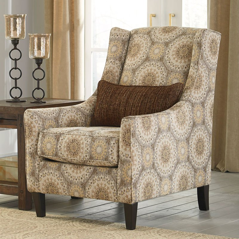 Quarry hill driftwood accent chair accent chairs living room furniture living room for Living room with accent chairs