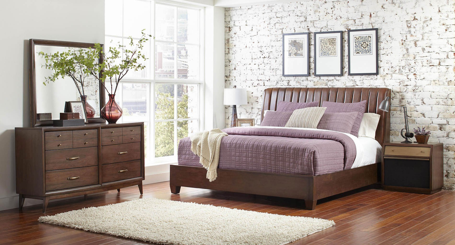 ... Pulaski Furniture San Mateo 4 Pc Sleigh Bedroom Set Pulaski ...