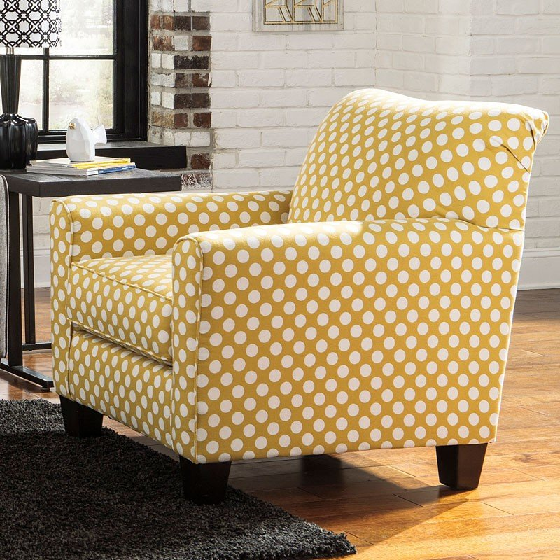 brindon yellow accent chair accent chairs living room