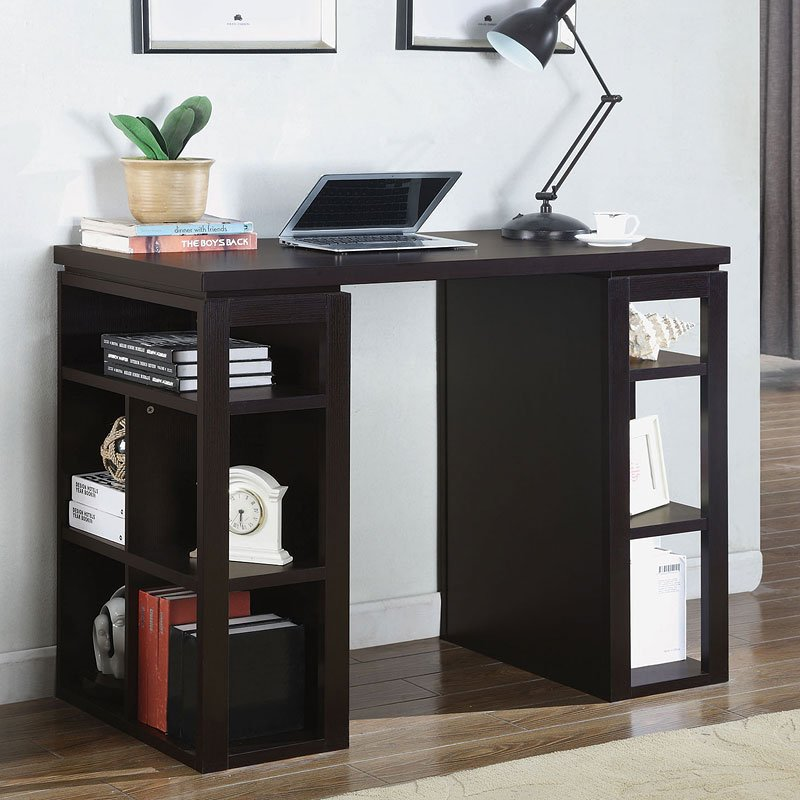 Counter Height Writing Desk - Home Office Desks - Home Office ...
