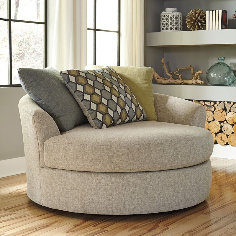 oversized swivel accent chair accent chairs living room furniture