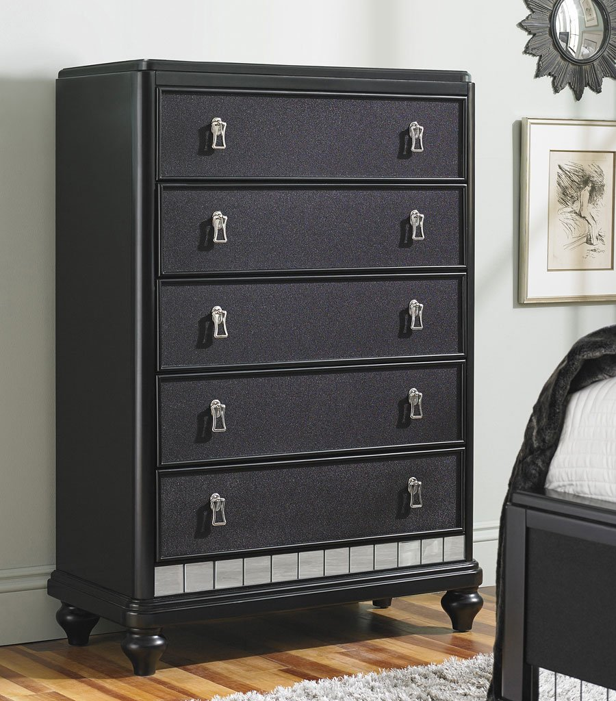 Diva Midnight Drawer Chest Chests Bedroom Furniture