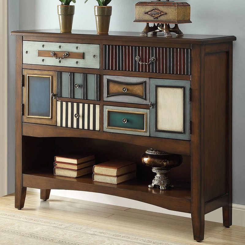 Accent Cabinet W 1 Shelf Accent Chests And Cabinets Occasional And Accent Furniture