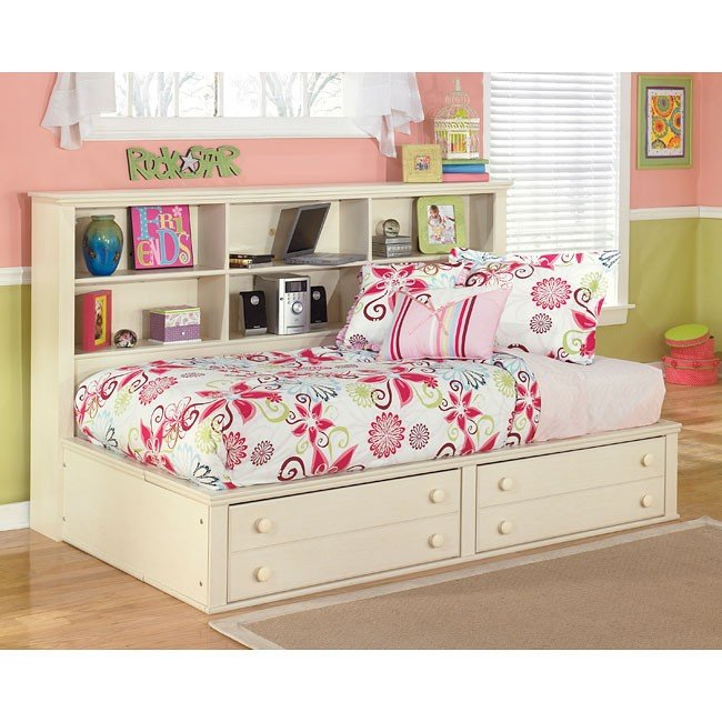 Cottage retreat bookcase bed signature design by ashley - Cottage retreat collection bedroom furniture ...