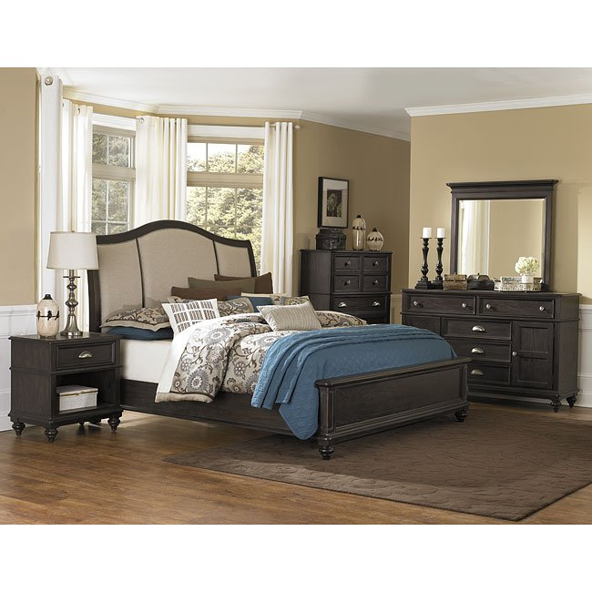 moreau panel bedroom set magnussen furniturepick. Black Bedroom Furniture Sets. Home Design Ideas