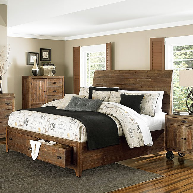 river ridge storage island bed beds bedroom furniture