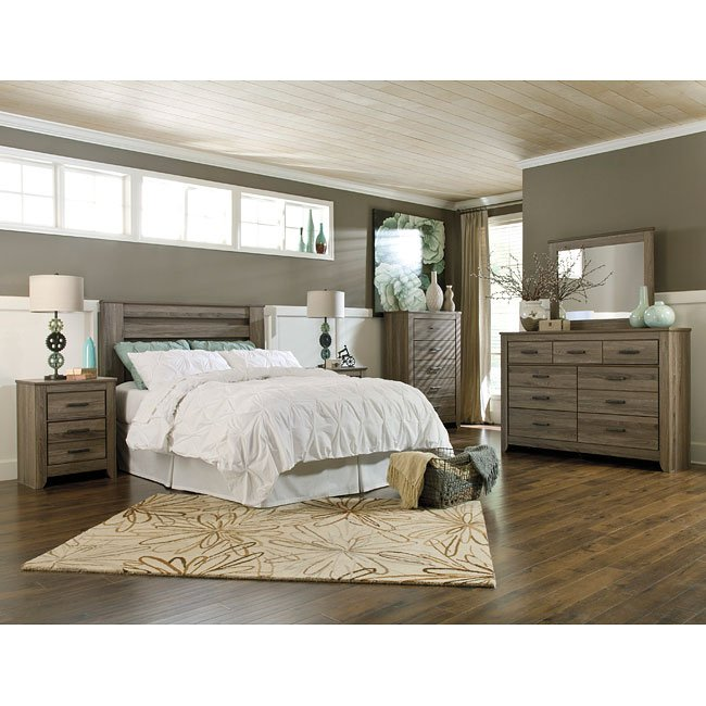 Zelen Headboard Bedroom Set Signature Design By Ashley Furniture Furniturepick