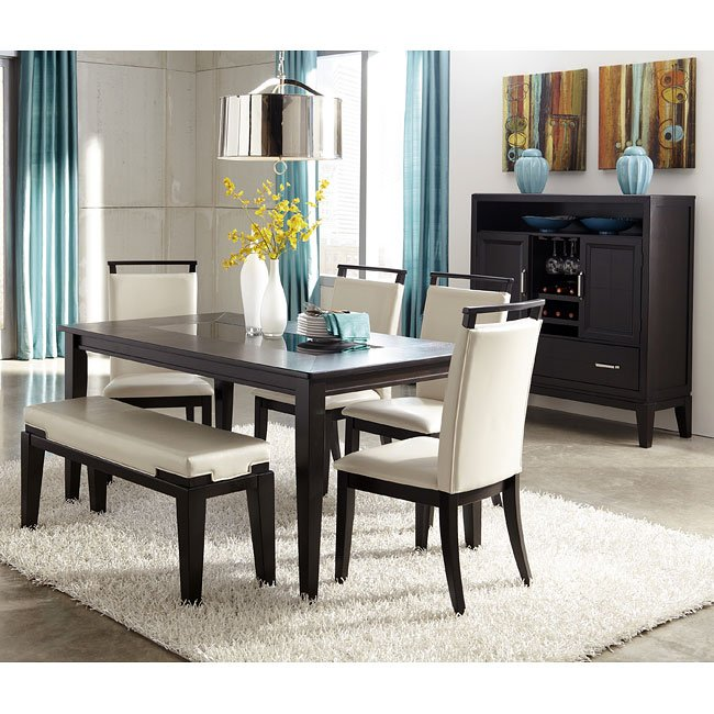 Ashley Furniture Dining Room: Trishelle Dining Room Set W/ Bench Signature Design By