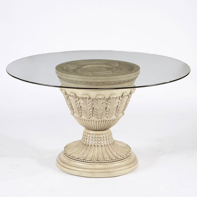 Ortanique Round Pedestal Dining Table Signature Design by  : D707 50B D100 50T table 11 from www.furniturepick.com size 650 x 650 jpeg 37kB