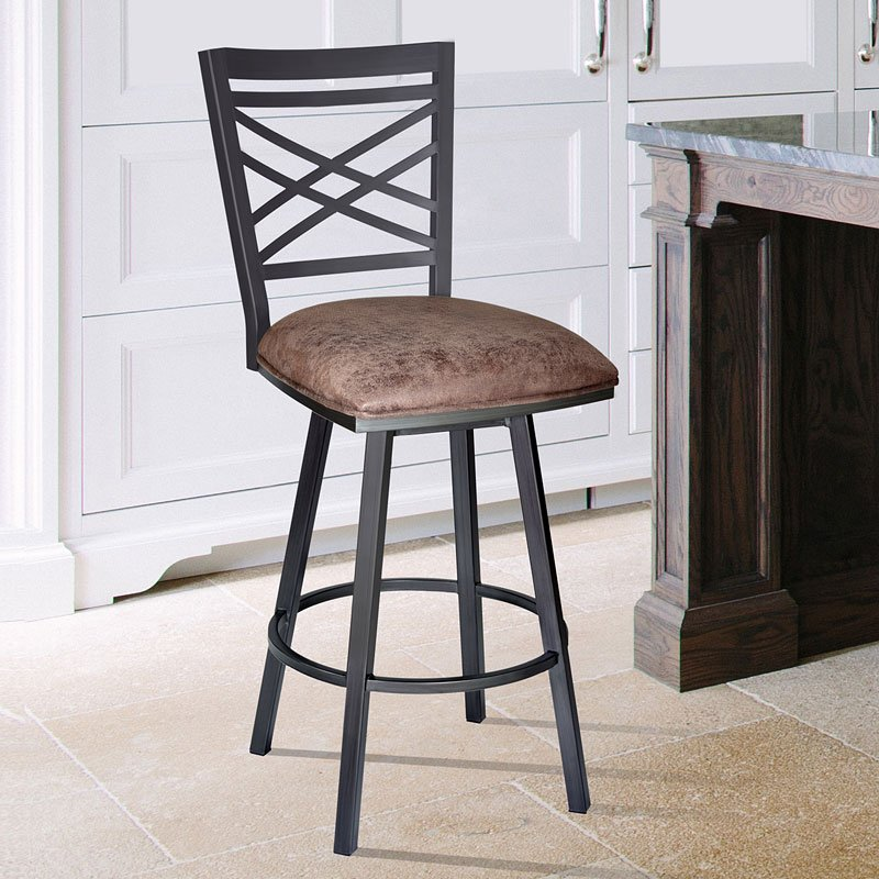 Fargo Counter Height Barstool Mineral Counter Height