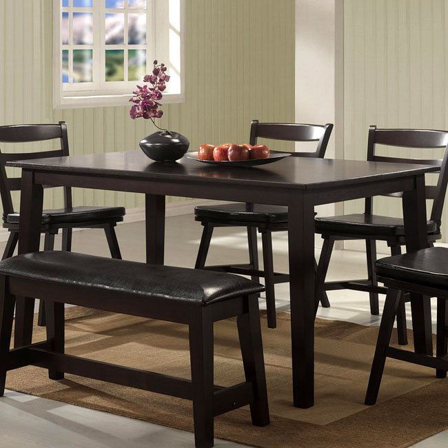 Seattle dining table coaster furniture furniturepick for Furniture pick up seattle