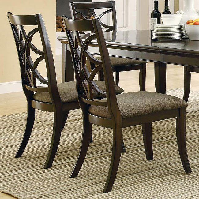 Meredith Side Chair Set of 2 Coaster Furniture