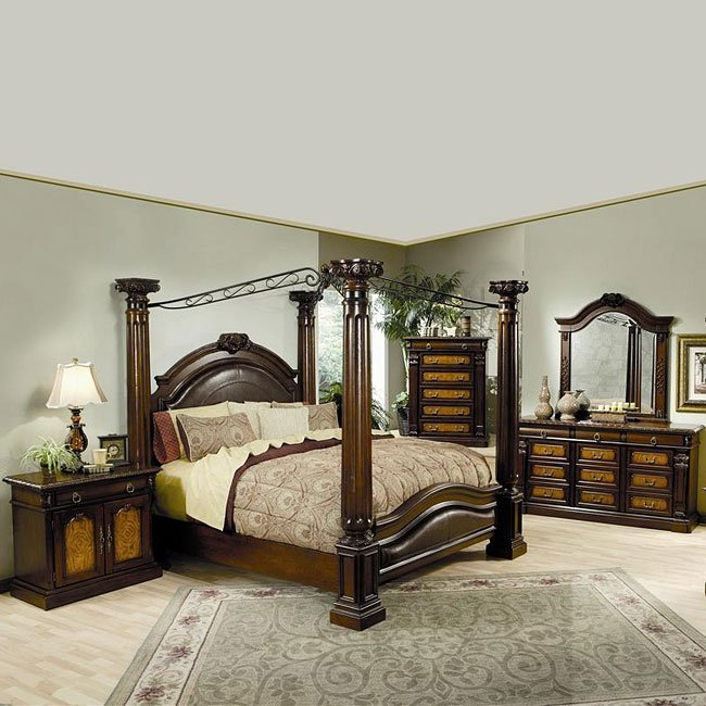 Montecito Canopy Bedroom Set Coaster Furniture