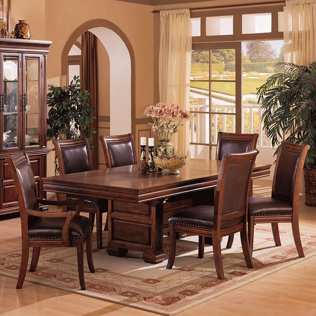 Andrea Formal Dining Room Set Coaster Furniture: Westminster Dining Room Set Coaster Furniture