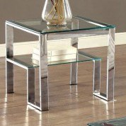 Nikita End Table (Chrome)