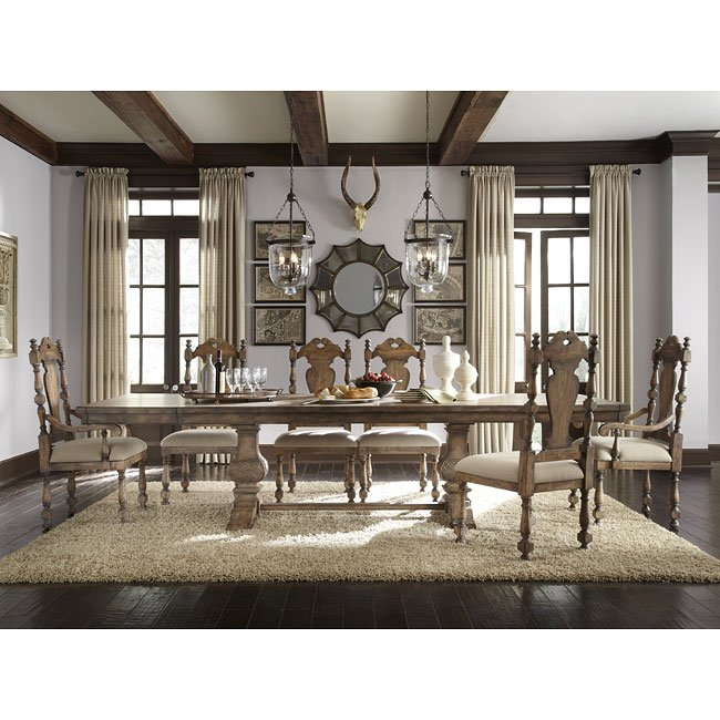 desdemona custom dining room set pulaski furniture