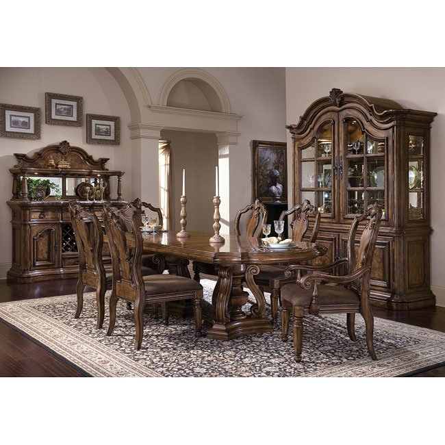 san mateo dining room set pulaski furniture furniturepick