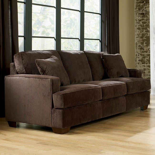 Atmore Chocolate Queen Sofa Sleeper Signature Design by