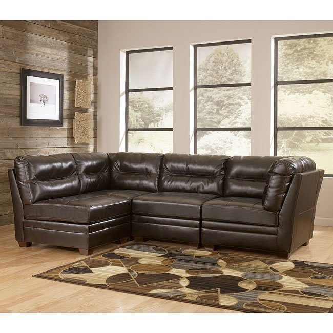 Modular Sectional Sofa Ashley: Chocolate Modular Sectional Signature Design