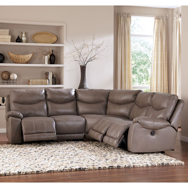 Modular Sectional Sofa Ashley: Pegram Pebble Modular Sectional Signature Design By Ashley
