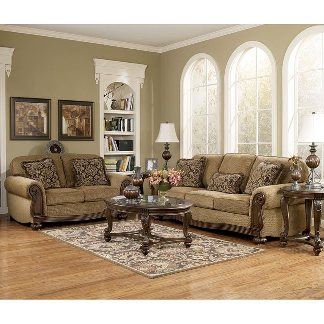 Lynnwood Amber Living Room Set Signature Design By
