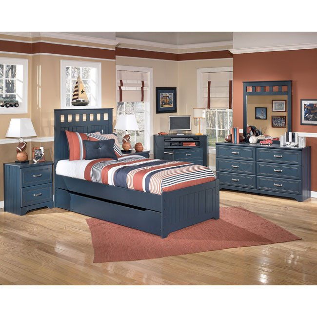 Leo Panel Bedroom Set W Trundle Signature Design By