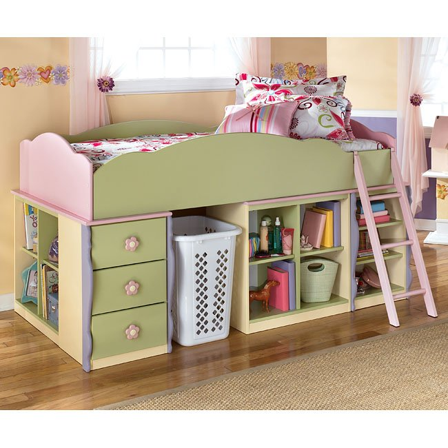 Doll House Loft Bed Bedroom Set Signature Design By Ashley Furniture Furniturepick