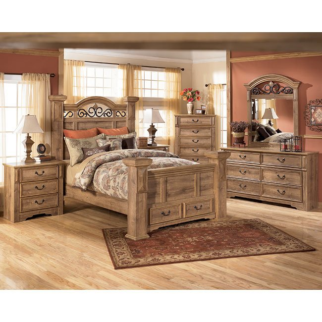 Ashley Home Furniture Bedroom Sets: Whimbrel Forge Poster Storage Bedroom Set Signature Design