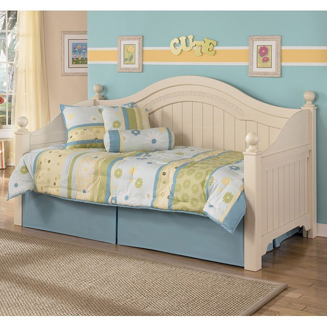 Cottage retreat day bed bedroom set signature design by ashley furniture furniturepick Cottage retreat bedroom set