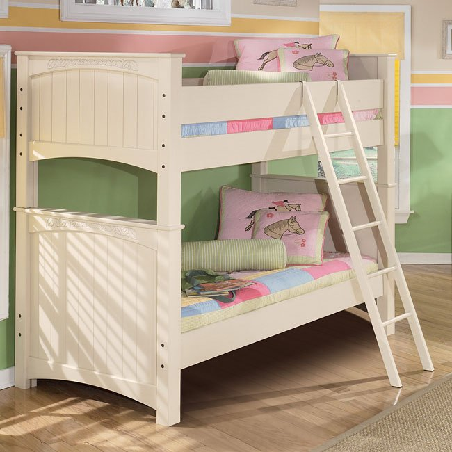 Cottage Retreat Bunk Bed Signature Design by Ashley  : sig B213 A bunk bed 11 from www.furniturepick.com size 650 x 650 jpeg 70kB