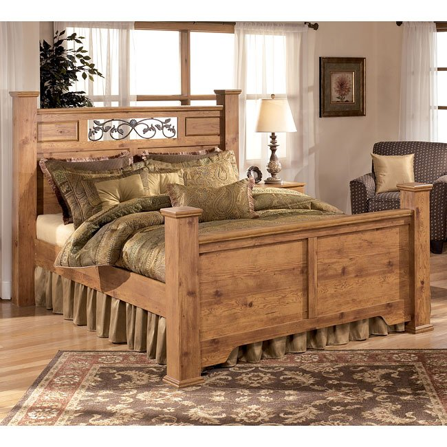 bittersweet poster bed signature design by ashley furniture