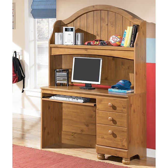 Stages desk with hutch signature design by ashley for Stages bedroom collection